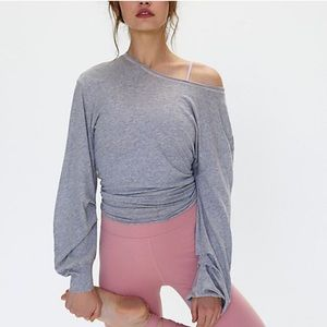 Free People Movement Pivot Point Long Sleeve Top